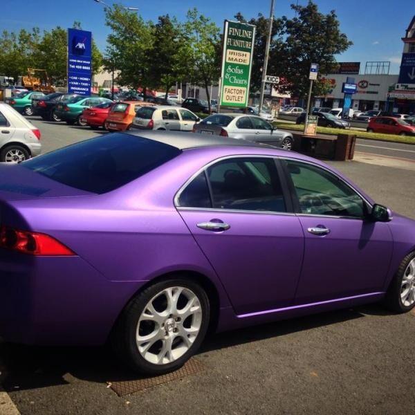 Avery Supreme Wrapping Film Matte Metallic Purple - Avery Supreme Wrapping Film Matte Metallic Purple