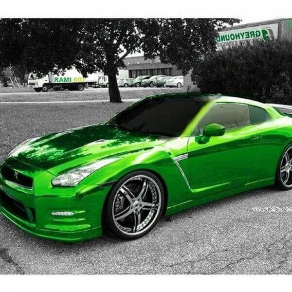 Hexis Super Chrome Green - Hexis Super Chrome Green