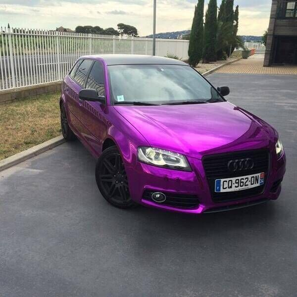 Hexis Super Chrome Purple - Hexis Super Chrome Purple