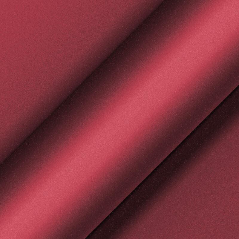 Matte Metallic Garnet Red