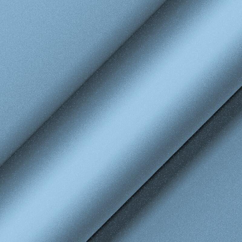 Matte Metallic Frosty Blue