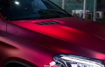 Mercedes GLE Coupe autófóliázás