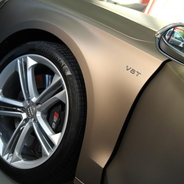 Audi S8 autófóliázás