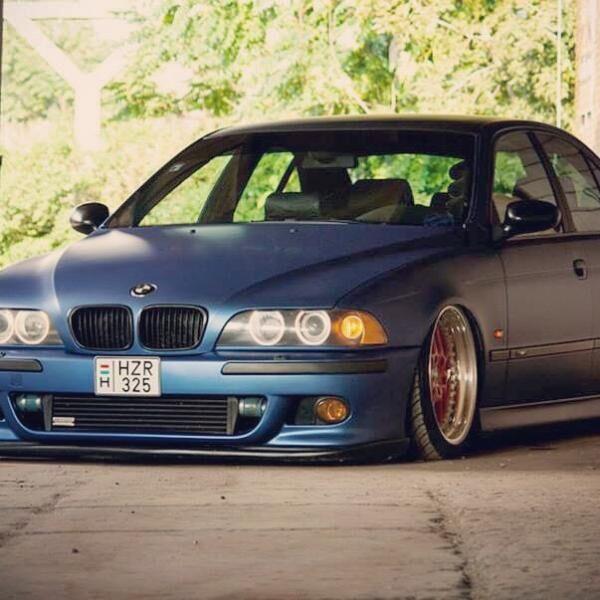BMW E39 autófóliázás