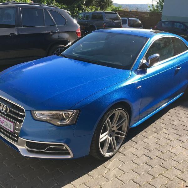 Audi S5 autófóliázás