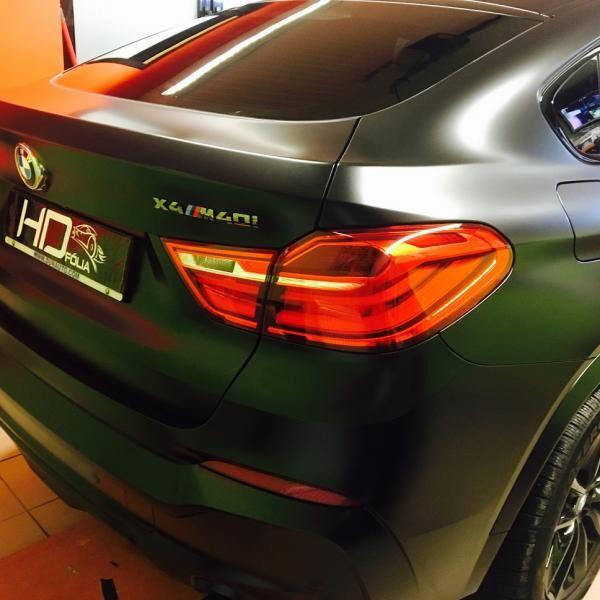 BMW X4 autófóliázás