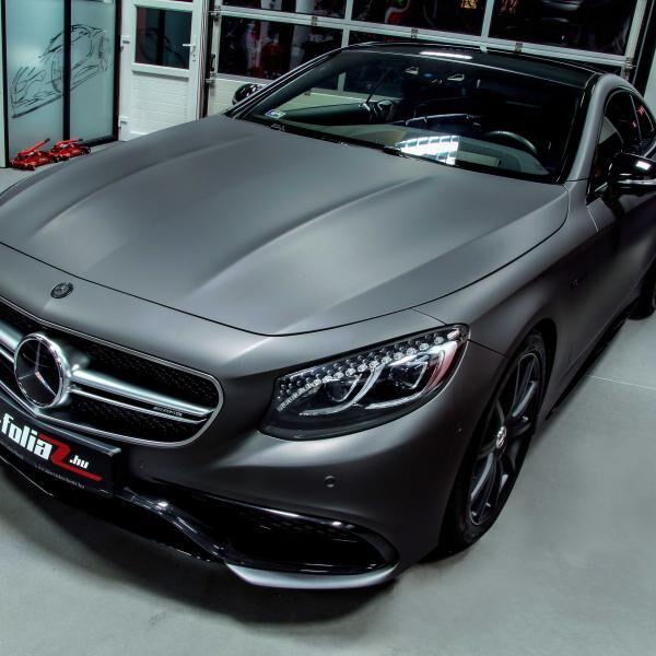 Mercedes S63 autófóliázás