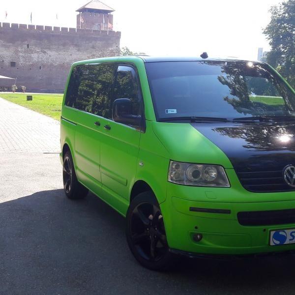 Volkswagen egyedi zöldben