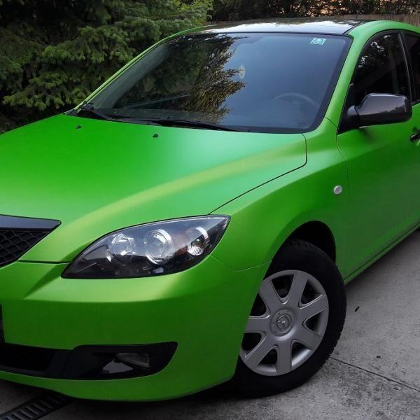Autófóliázás örökzöld színnel