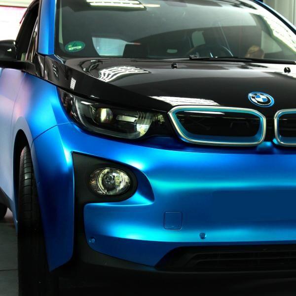 Egy elektromos szépség autófóliázása