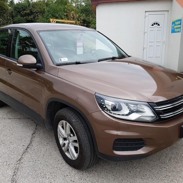 VW Tiguan autófóliázás